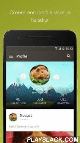 Yummypets  Android App - playslack.com ,  Vervoeg de vriendelijkste groep dierenliefhebbers ooit. Welkom bij Yummypets, het sociale petwerk.Yummypetters delen hun 'oooh'-momenten… en, bij elke foto die je deelt, zal je nieuwe vrienden ontdekken die maar wat graag hun sympathie betuigen.Redenen om te vallen voor Yummypets:- Zodra je inlogt, zal je nieuwe (dieren)vrienden beginnen maken - Neem foto's, laat ze er fantastisch uitzien met onze eenvoudige bewerkingstools  - Leer…