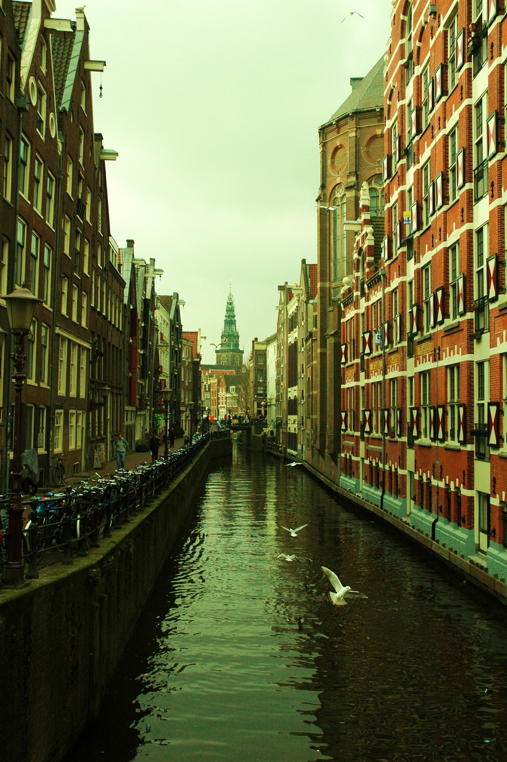 A canal @ Amsterdam