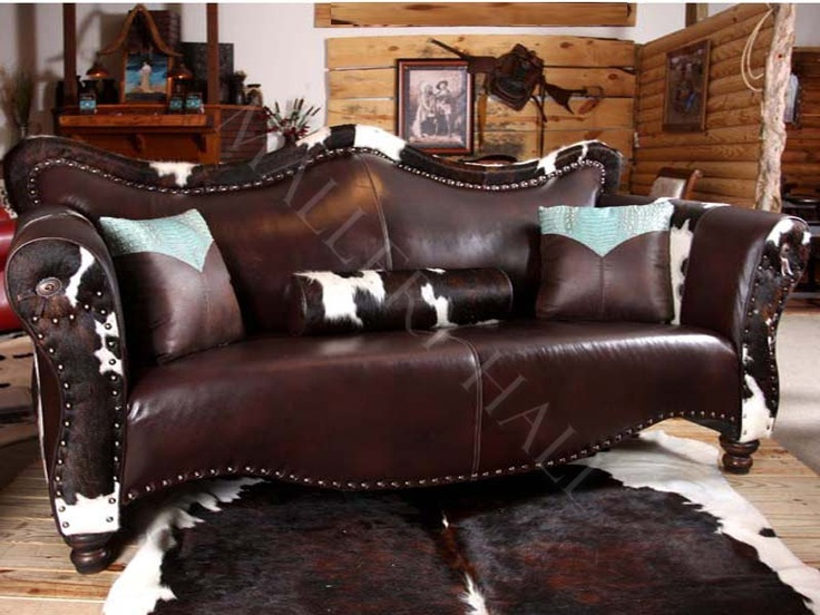 Top Grade Leather Sectional Love Seat Sofa Wedge Nailhead