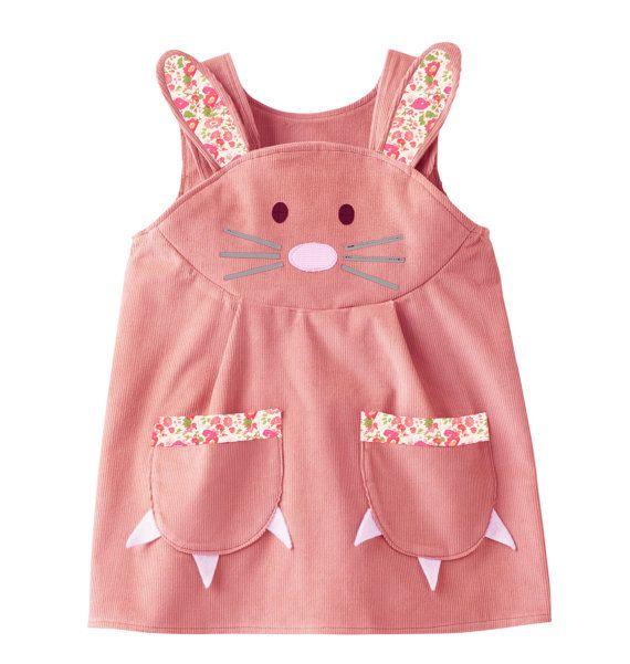 Bunny conejo vestido con el ajuste de impresión británica