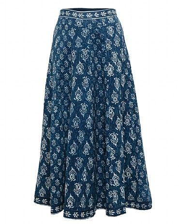 Chayla Panelled Skirt