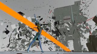 Bound is a 3D platformer developed by Plastic, with deep narrative elements and heavily inspired by modern art.