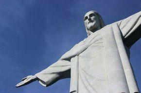 Le Christ Rédempteur  du haut du monde du #Corcovado ! Impressionnant.