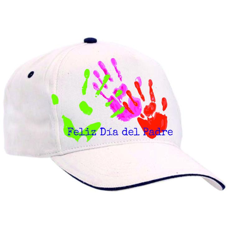 Gorra de algodón para personalizar detalle del día del Padre