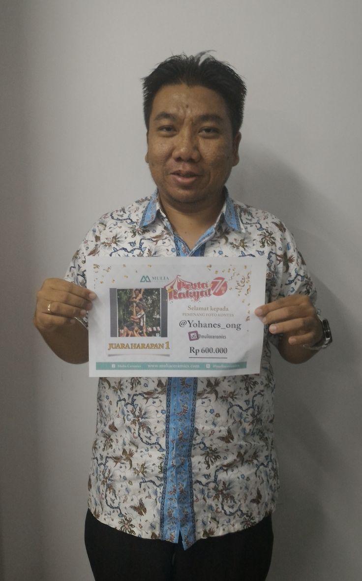 Juara harapan 2 @yohanes_ong