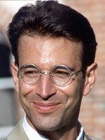 """Daniel Pearl  October 10, 1963 – February 1, 2002  Ten years ago today, American Jew Daniel Pearl was murdered by Islamic militants for being an American Jew.    It is incredibly difficult to put in words the grimness of what transpired.    His last words were, """"I am a Jewish American"""".    Rest in Peace, Daniel Pearl.    Hero."""