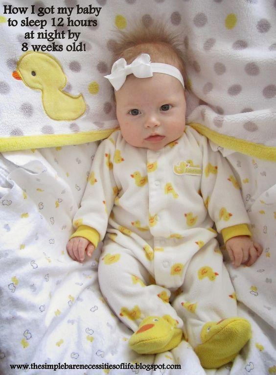 The 25+ best ideas about Baby Sleep Through Night on Pinterest ...