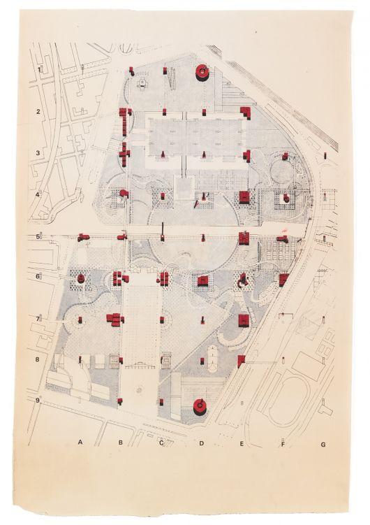 Bernard Tschumi retrospective opens on April 30 at Centre Pompidou, Paris | Bernard Tschumi, Sketch 1982 Parc de la Villette © BTA | Bustler