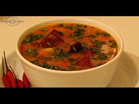 Ciorba de fasole cu ciolan - Adygio Kitchen - YouTube