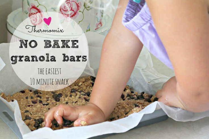 Thermomix no bake granola bars 1