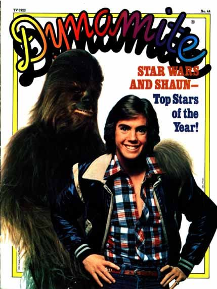 Chewbacca & Shaun Cassidy on the cover of DYNAMITE? Nice!: Remember This, Childhood Memories, Comic Books, Stars War, Dynamite Magazines, Memories Lane, Scholast Books, Shaun Cassidy, Magazines Covers