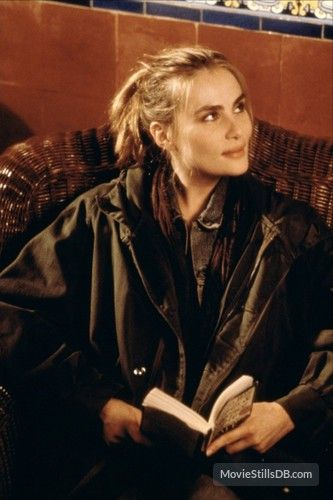 Emmanuelle Seigner - wife of Roman Polanski, stars with Johnny Depp in The Ninth Gate