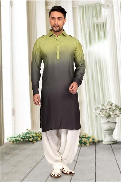 d0ad8b1f81de Double Shaded Pathani Suit for Mens :: Sachin's Men's Worlds ...