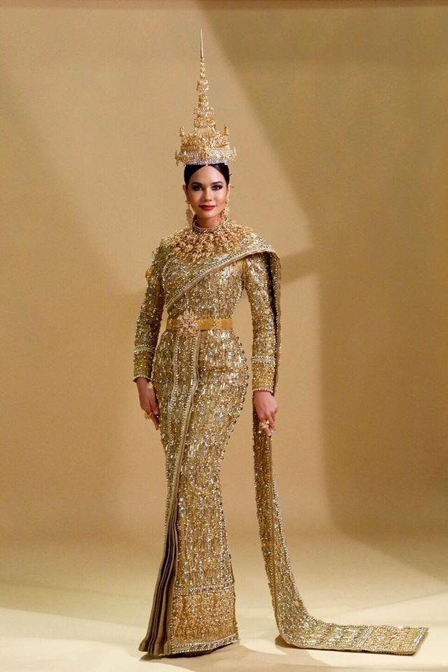 เครื่องประดับที่ช่วยส่งเสริมชุดประจำชาติให้สมบูรณ์แบบที่สุดบนเวที Miss Universe 2016 และใช้ 3D printing เข้ามาช่วยในการออกแบบ