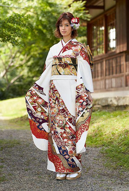 NO.1748 正絹 京友禅|成人式の振袖販売、振袖レンタルの京都きもの友禅