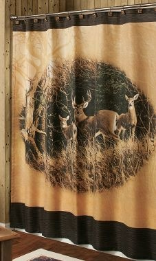 Persis Weirs November Apples Whitetail Shower Curtain