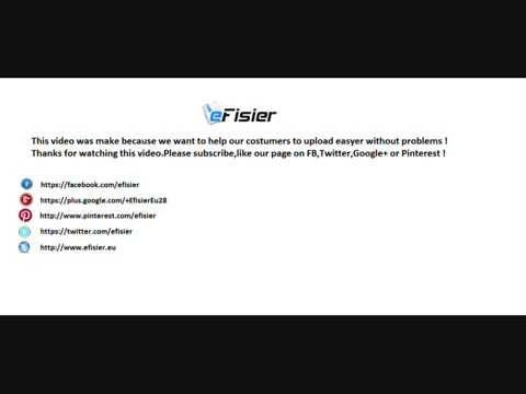 eFisier | How to upload files