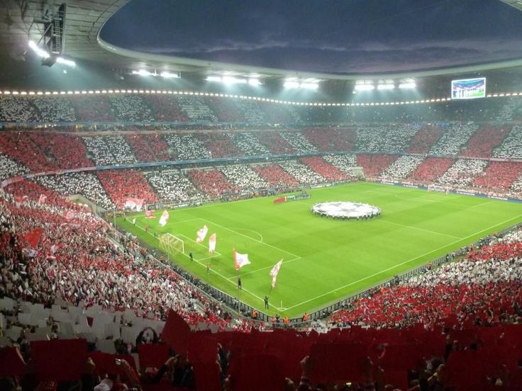 Helge @ Bayern München-Barcelona