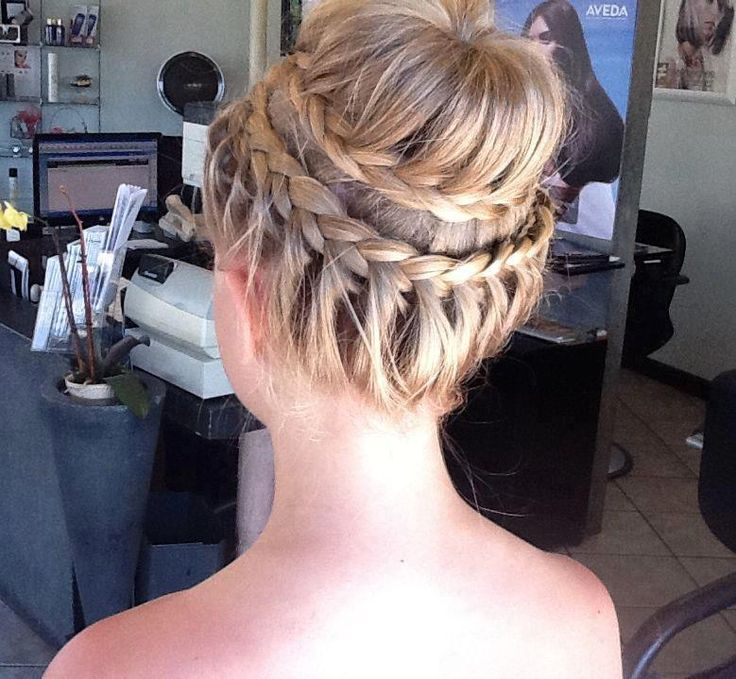 Simple Braided Hairstyles For Prom : 176 best prom hairstyles 2017 images on pinterest