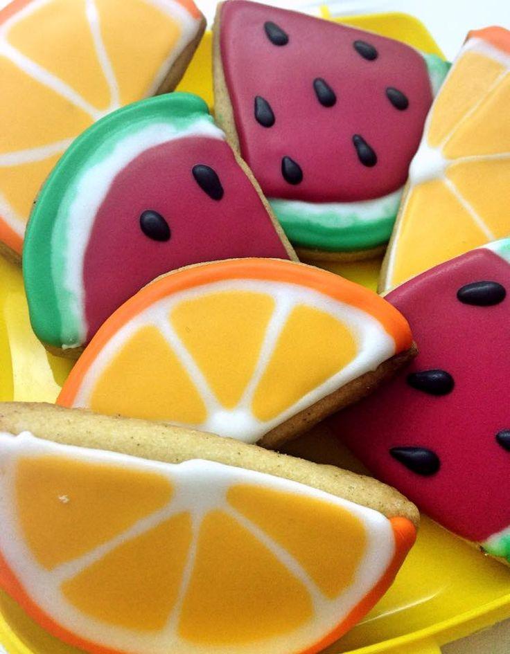 fruits - cookies