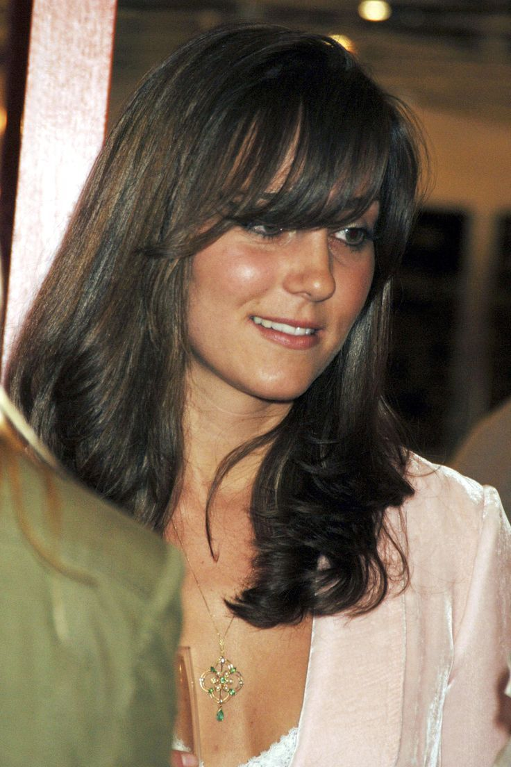 images about kate william before marriage kate s channeled the her long side swept bangs channeled in this look from the opening party for the shop at bluebird