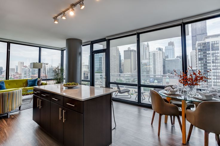 10 Chicago Dream Apartments To Rent Right Now #refinery29  http://www.refinery29.com/available-chicago-apartment-rentals#slide-4   Rents range from $1,780 for a studio through $7,250 for a penthouse. A few two-bedroom and three-bedroom penthouses are available from $6,250 to $7,250 right now, if you're willing to pay for the extra amenities these apartments offer: private balconies, oversized walk-in closets, custom wide-plank floors, and floor-to-ceiling windows.