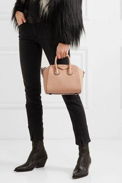 bd7498cf94 Givenchy antigona mini textured-leather tote. #givenchy #bags #Givenchy 'sAntigonapurses