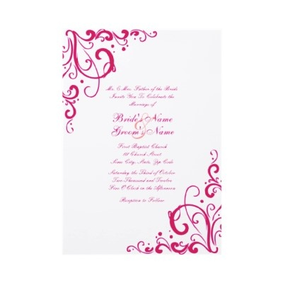 Check out our unique fuschia pink wedding ideas. http://www.CreativeWeddingStyle.com