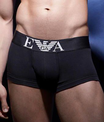 Emporio Armani Stretch Cotton Trunk Underwear - Men's
