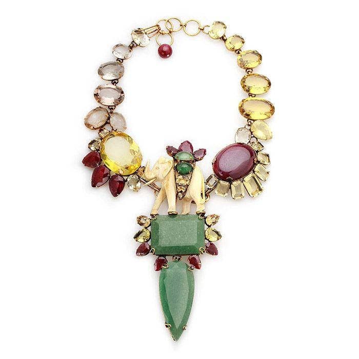 Elephant Inspired Necklace  #Follow #IradjMoini