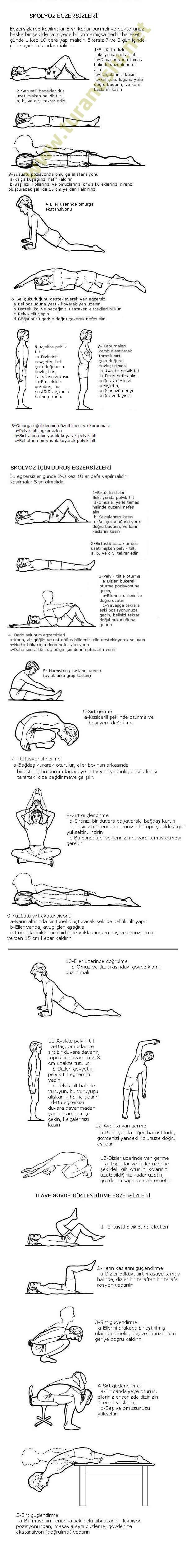 Skolyoz Egzersizleri