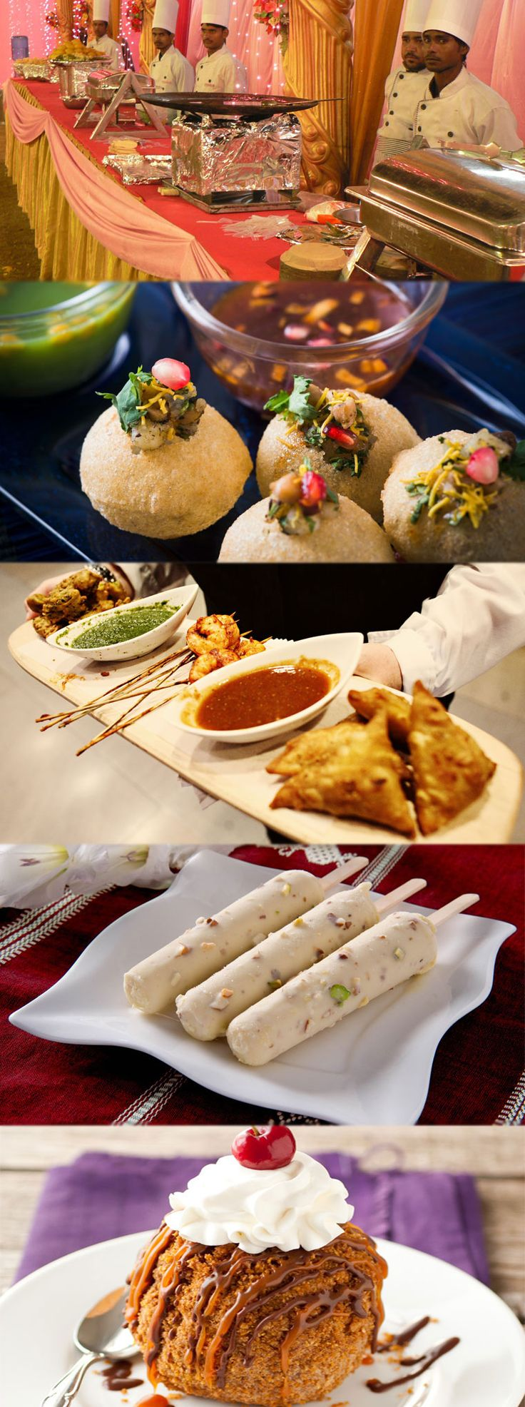 Indian Wedding Food Stall Ideas Get more details: http://www.spicevillage.co.uk/catering/indian