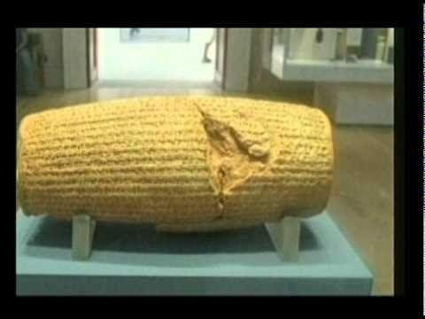 Return of Cyrus Cylinder to Iran-تحویل منشور کورش کبیر به ایران - YouTube
