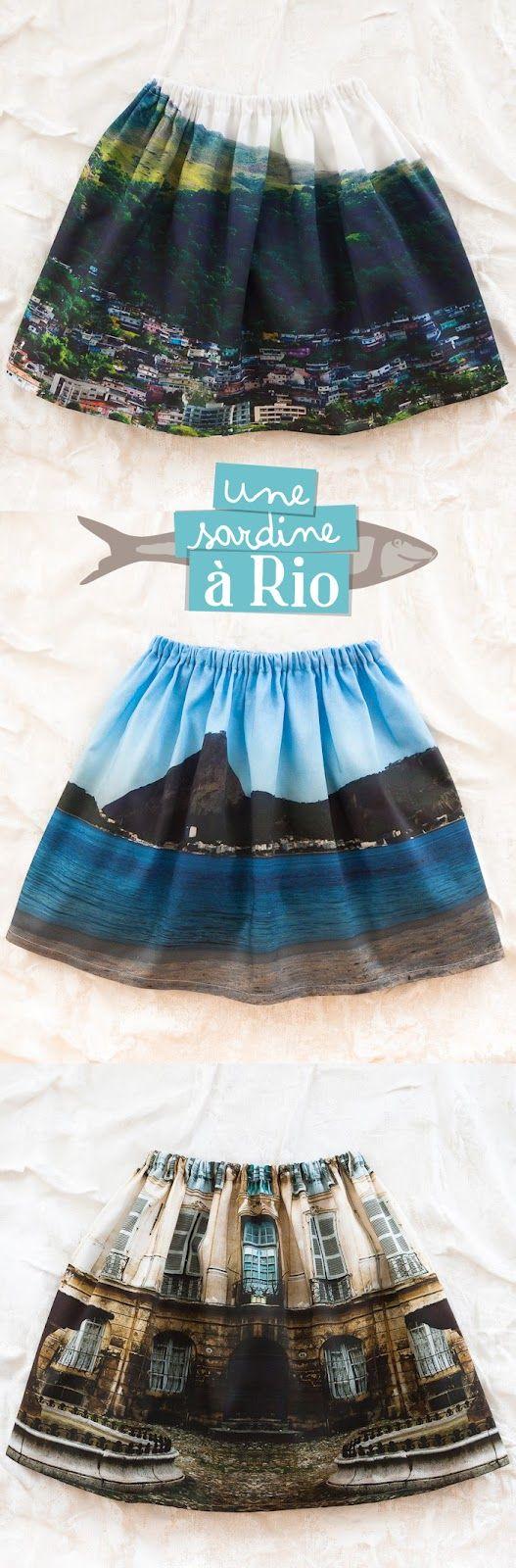 Une Sardine a Rio incredible skirts...