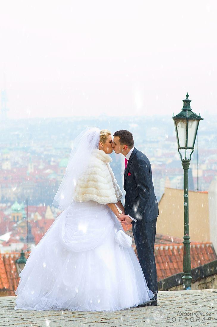 Prague wedding in January.