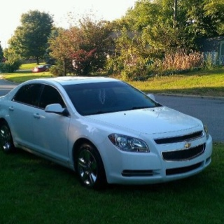 2009 chevy Malibu. By far the nicest thing I have ever owned! Love it!