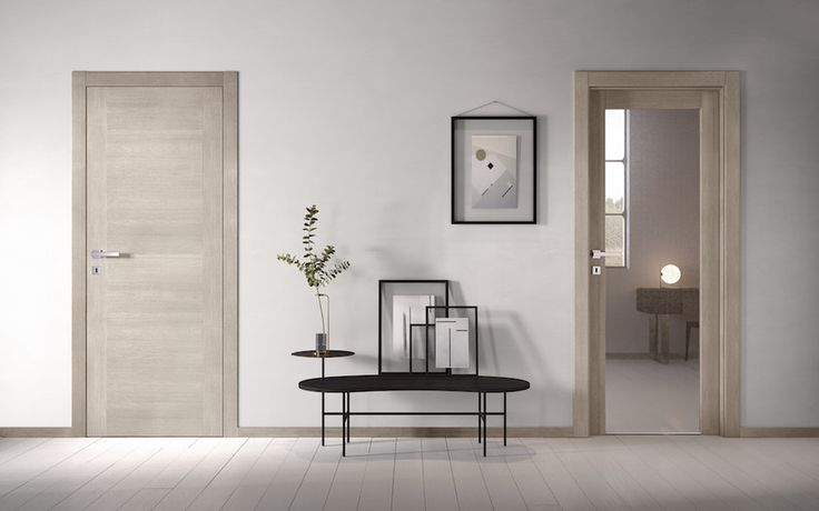 Hinged flush fitting door with concealed hinges no limits for Gidea no limits