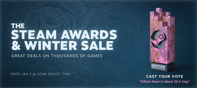 Steam Winter Sale On Now! Plus Vote For The Steam Awards!