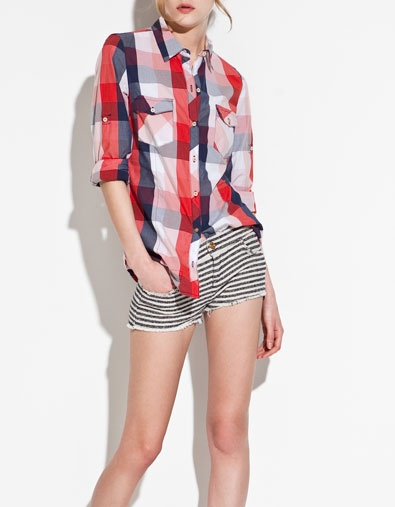 29 best images about camisas de cuadros on pinterest - Zara home cuadros ...