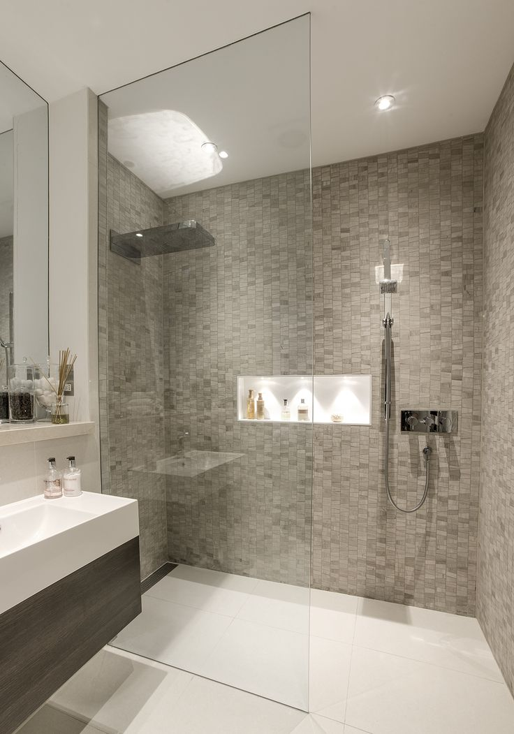 Stunning basement shower room