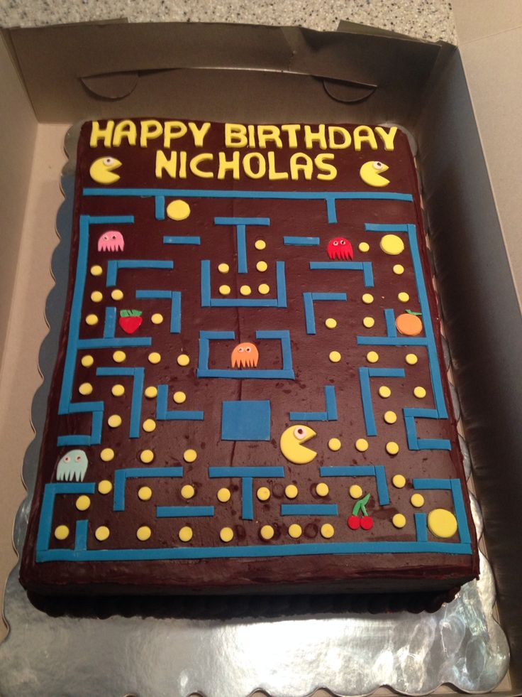 25 Best Ideas About Pac Man Cake On Pinterest Pac Man