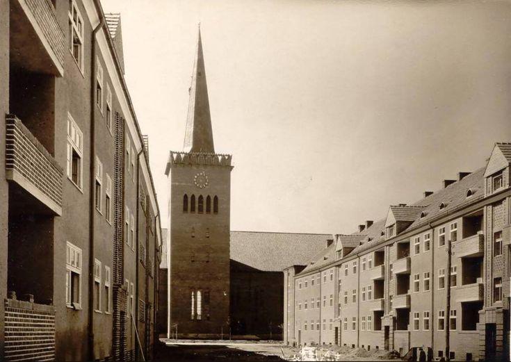 Wrocław - Popowice, ul. Bobrowa (1925)