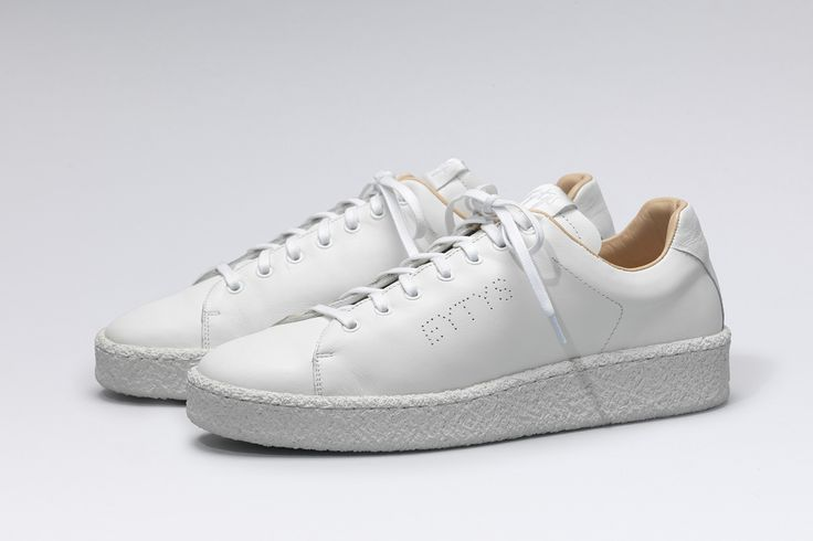 #Eytys Ace Leather White.