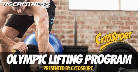 Build Muscle Using An Olympic Lifting Program