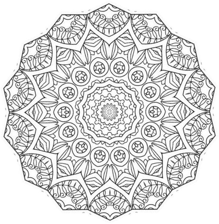 861 best images about mandela 39 s on pinterest coloring - Mandalas a colorier ...
