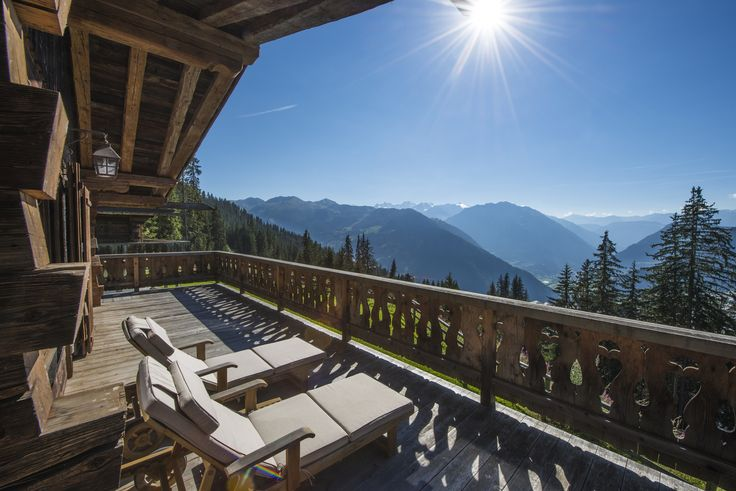 The charming Chalet Tesseln in Verbier occupies an incredible position with stunning views.
