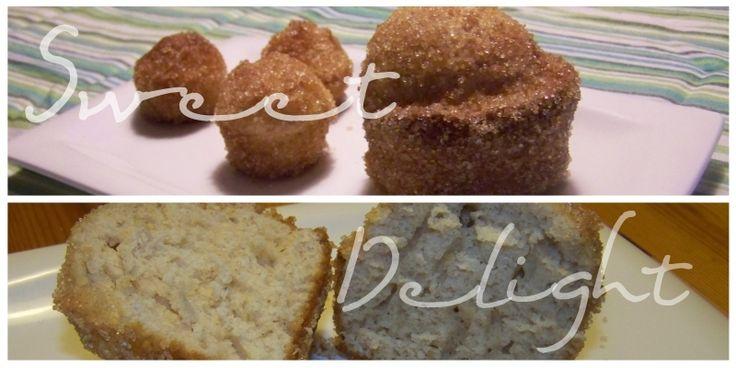 Kaneel-donut's in een muffinverpakking.