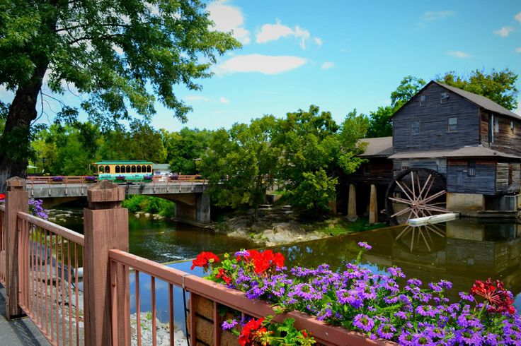 Pigeon Forge is home to so many beautiful views. The Old Mill is one of them.