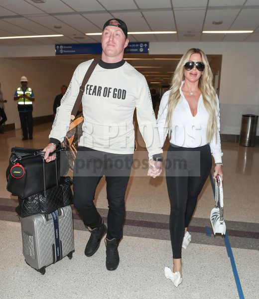 Kim Zolciak-Biermann and Kroy Biermann Sighted at LAX Airport in Los Angeles on March 8 2018