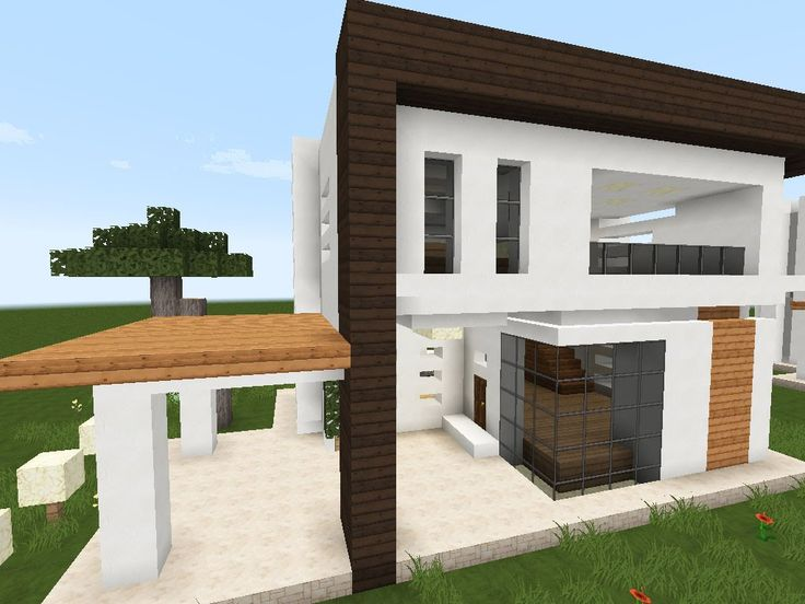 17 mejores ideas sobre casas minecraft en pinterest for Como construir una casa moderna